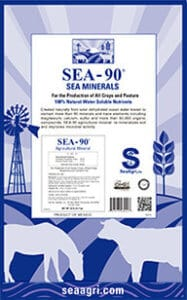 SEA-90 Agricultural Mineral and Garden Fertilizer