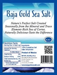 Baja Gold All Natural Sea Salt