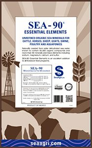 SEA-90 Essential Elements Livestock Mineral