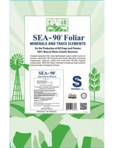 SEA-90 Foliar & Hydroponic Fertilizer